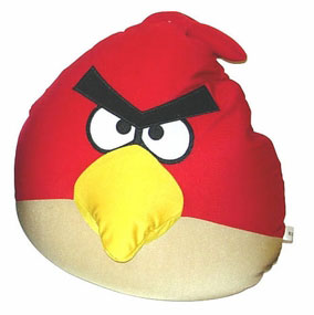 Angry Birds - Red Bird Squeeze Pillow