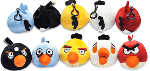 Angry Birds - 3.5-Inch Clip Set of 5