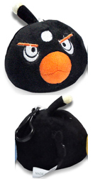Angry Birds - 3.5-Inch Black Bird Clip