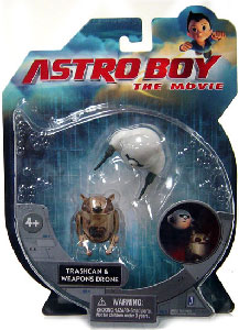 Astro Boy - Traschcan and Weapons Drone