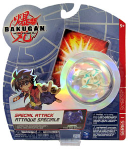 Bakugan Special Attack Booster - Ventus(Green) Jumping Skyress LOOSE