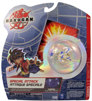 Bakugan Special Attack Booster - Aquos(Blue) Jumping Skyress LOOSE