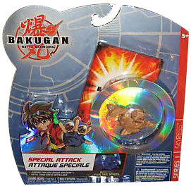 Bakugan Special Attack Booster - Subterra Tan with Tan Stripes Skyress