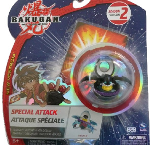 Bakugan New Vestroia Special Attack Booster - Darkus(Black) Preyas II