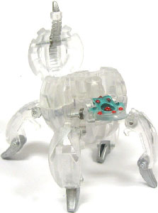 Bakugan B3 BakuCrystal Clear - Fencer