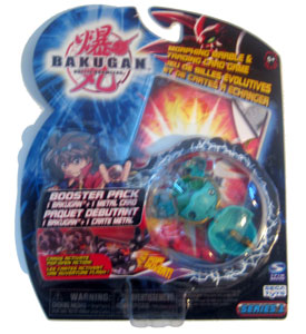 Bakugan - Ventus (Green) Boosters Pack - Stinglash