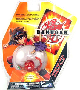 Bakugan - Pyrus (Red) Boosters Pack V2 Pack - Centipod