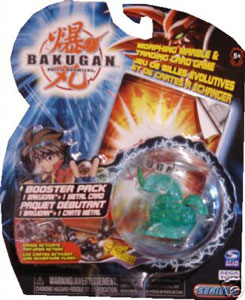 Bakugan - Ventus (Green) Boosters Pack - Dragonoid