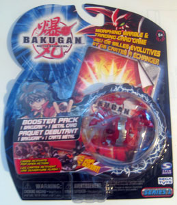 Bakugan - Pyrus(Red) Boosters Pack - Chrome Hydranoid