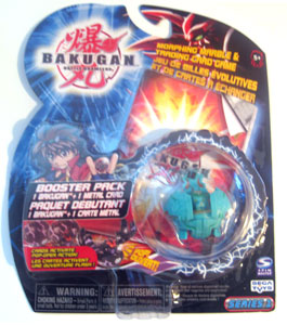 Bakugan - Ventus(Green) Boosters Pack - Tigrerra
