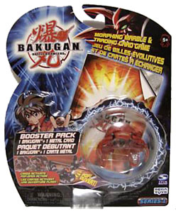 Bakugan - Pyrus (Red) Boosters Pack - Laserman
