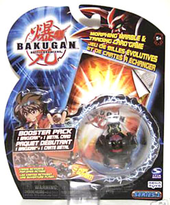 Bakugan - Darkus(Black) Boosters Pack - Tigrerra