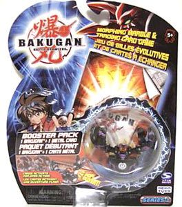 Bakugan - Darkus(Black) Boosters Pack - Fear Ripper
