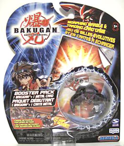 Bakugan - Darkus(Black) Boosters Pack - Laserman