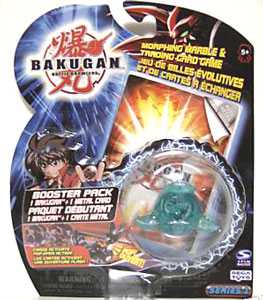Bakugan - Ventus(Green) Boosters Pack - Saurus