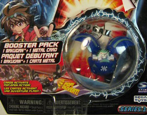 Bakugan - Aquos(Blue) Boosters Pack - Griffon