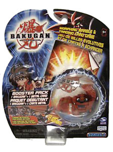 Bakugan - Pyrus(Red) Boosters Pack - Gorem