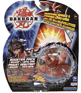 Bakugan - Pyrus(Red) Boosters Pack - Stinglash