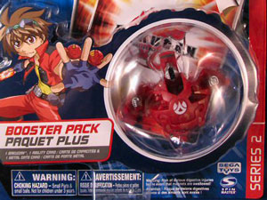 Bakugan -Pyrus(Red) Boosters Pack - Siege