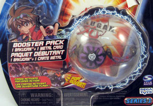Bakugan - Darkus(Black) Boosters Pack - Serpenoid