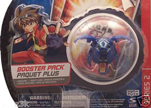 Bakugan - Aquos(Blue) Boosters Pack - Tuskor