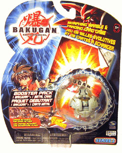 Bakugan - Haos(Grey) Boosters Pack - Tigrerra