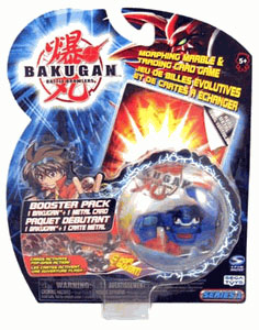 Bakugan - Aquos(Blue) Boosters Pack - Gorem