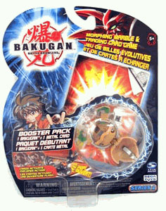 Bakugan - Subterra(Tan) Boosters Pack - Stinglash