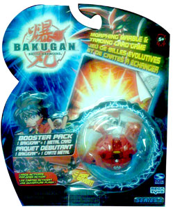 Bakugan - Pyrus (Red) Boosters Pack - Robotallian