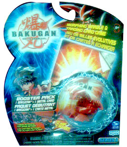 Bakugan - Pyrus (Red) Boosters Pack - Dragonoid