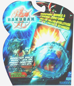 Bakugan - Aquos (Blue) Boosters Pack - Laserman