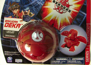 Bakugan Deka - Pyrus(Red) Dragonoid