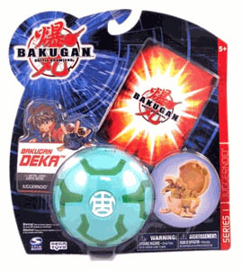 Bakugan Deka - Ventus(Green) Juggernoid