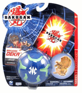 Bakugan Deka - Aquos(Blue) Juggernoid