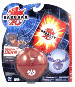 Bakugan Deka - Pyrus(Red) Fear Ripper