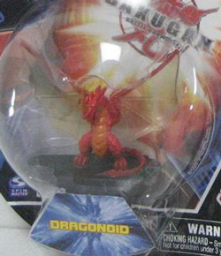 Bakugan Collector Figure - Pyrus(Red) Dragonoid