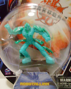 Bakugan Collector Figure - Ventus Robotallian