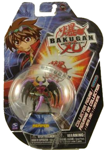Bakugan Collector Figure - Darkus Reaper