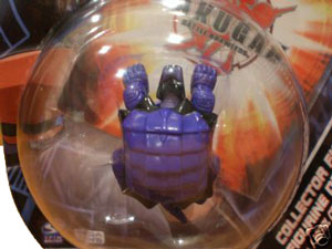Bakugan Collector Figure - Darkus Juggernoid