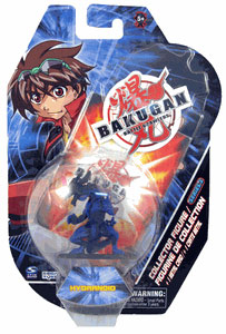 Bakugan Collector Figure - Aquos(Blue) Hydranoid