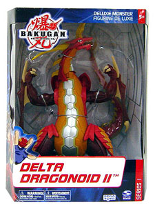 Bakugan Monster Deluxe - Delta Dragonoid II