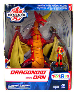 Bakugan Monster Deluxe - Dragonoid and Dan