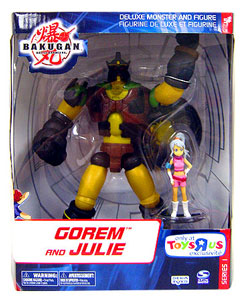 Bakugan Monster Deluxe - Gorem and Julie