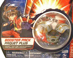 Bakugan - Haos(Grey) Boosters Pack - Series 2 Translucent Griffon