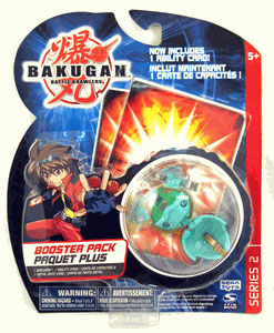 Bakugan - Boosters Pack - Series 2 Ventus(Green) Stinglash