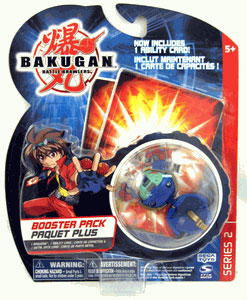 Bakugan - Boosters Pack - Series 2 Aquos(Blue) Stinglash