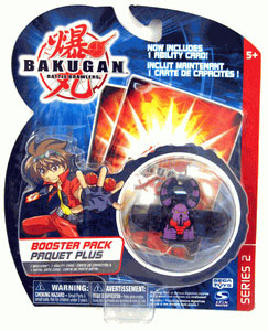 Bakugan - Boosters Pack - Series 2 Darkus(Black) Reaper