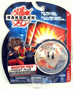 Bakugan - Boosters Pack - Series 2 Clear Gargonoid
