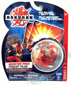Bakugan - Boosters Pack - Series 2 Pyrus(Red) Juggernoid