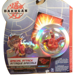 Bakugan Special Attack Booster - Pyrus Spin Dragonoid